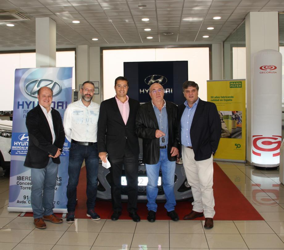 """MANN+HUMMEL IBÉRICA y Gecorusa entregaron el sábado los premios de su concurso """"Cambio filtro por coche"""""""
