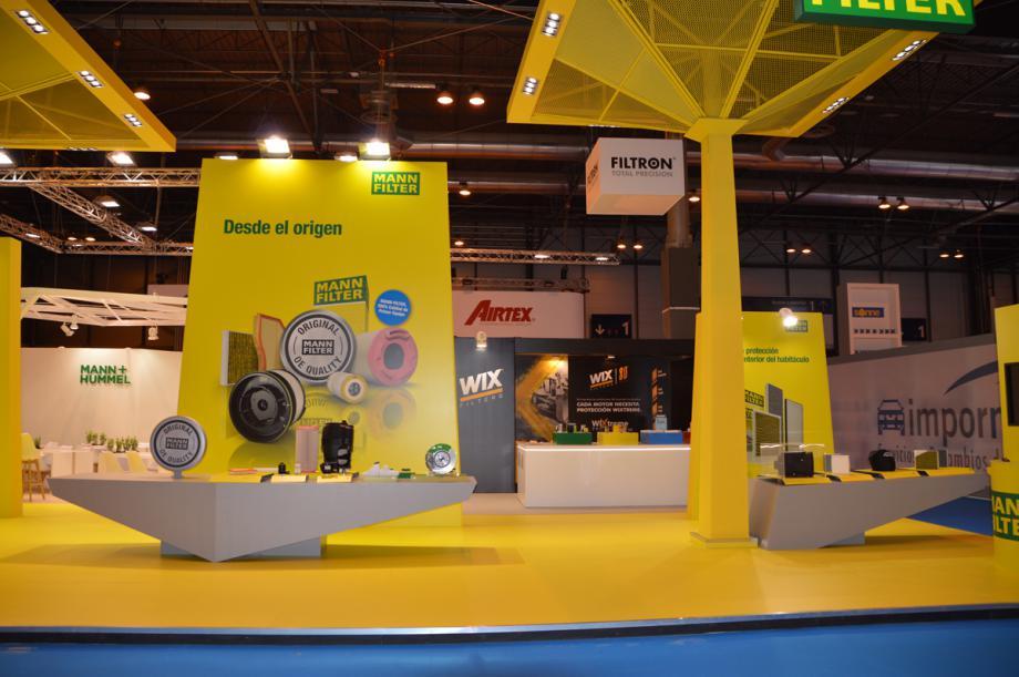 MANN+HUMMEL refuerza en Motortec su oferta global de productos con la incorporación de WIX y FILTRON